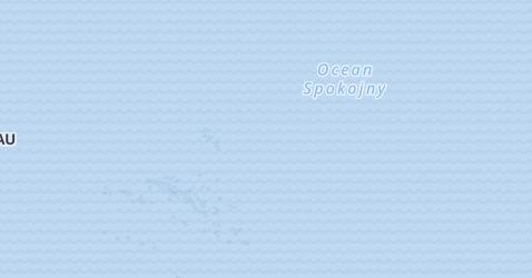 Polinezja Francuska - szczegółowa mapa
