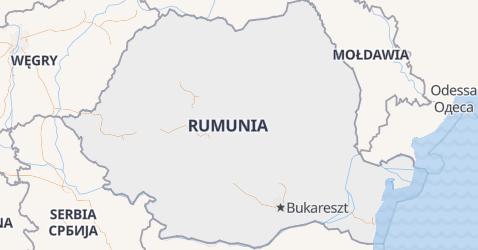Rumunia - szczegółowa mapa