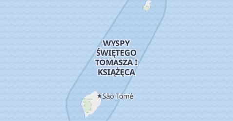 Sao Tome i Principe - szczegółowa mapa