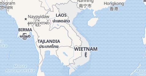 Wietnam - szczegółowa mapa