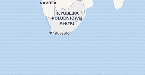 Republika Południowej Afryki - szczegółowa mapa
