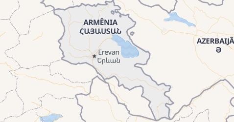 Mapa de Armênia