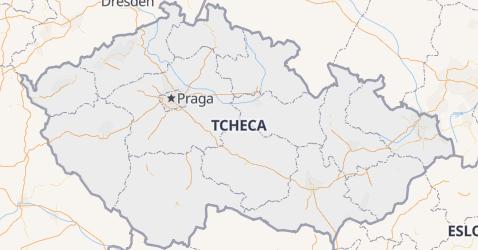 Mapa de República Tcheca