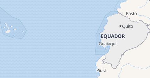 Mapa de Equador