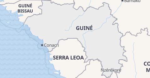 Mapa de Guiné
