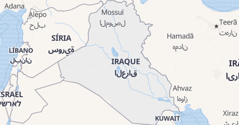 Mapa de Iraque