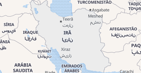 Mapa de Irã