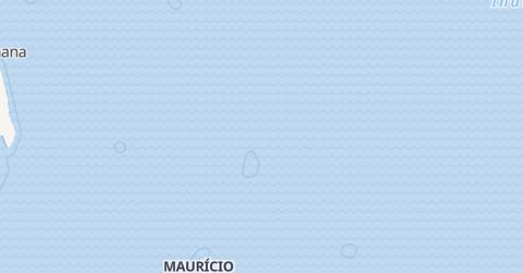 Mapa de Maurício