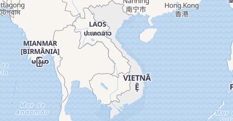 Mapa de Vietnã