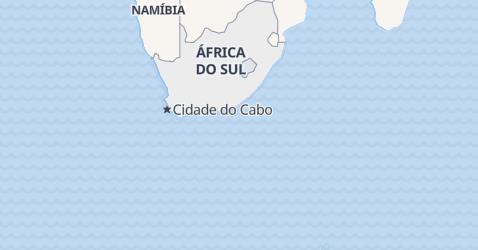 Mapa de África do Sul