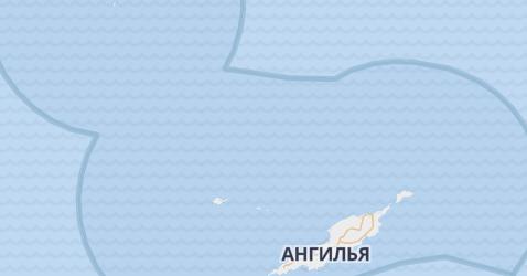 Ангилья - карта