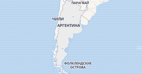 Аргентина - карта