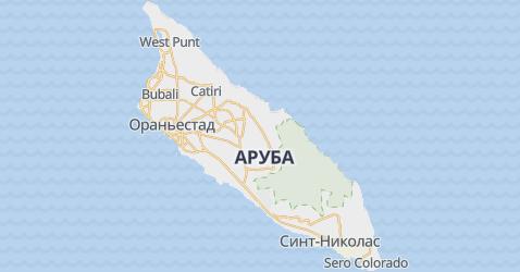 Аруба - карта