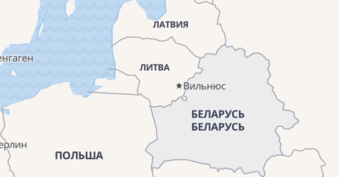 Беларусь - карта