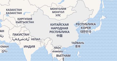 Китай - карта