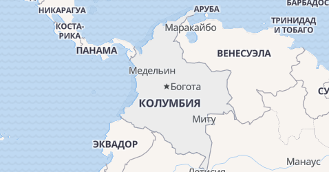 Колумбия - карта