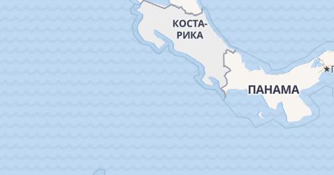Коста-Рика - карта