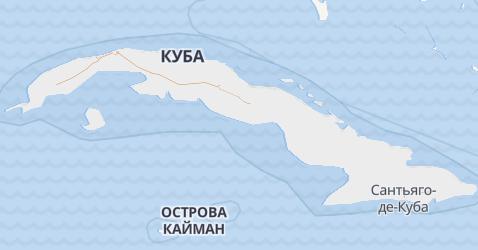 Куба - карта