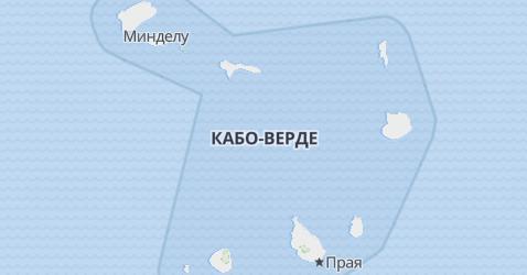 Кабо-Верде - карта