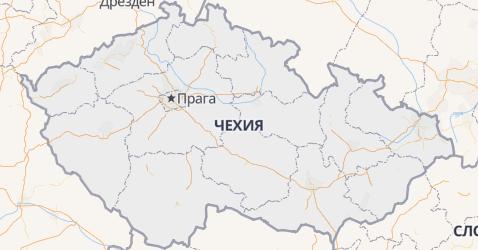 Чехия - карта