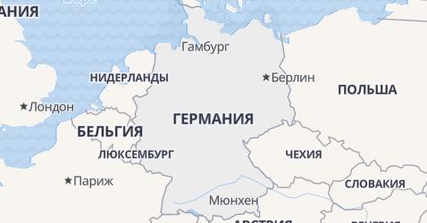 Германия - карта