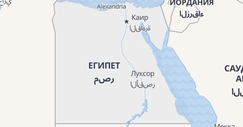 Египет - карта