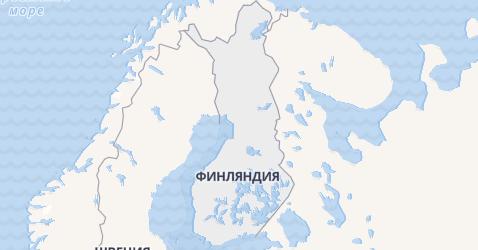 Финляндия - карта