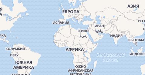 Великобритания - карта