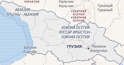 Грузия - карта