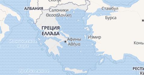 Греция - карта