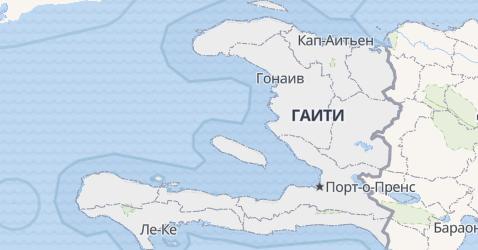 Гаити - карта