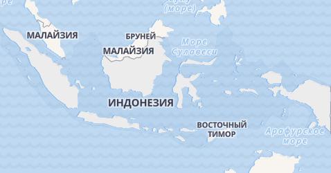 Индонезия - карта