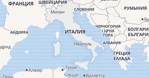 Италия - карта