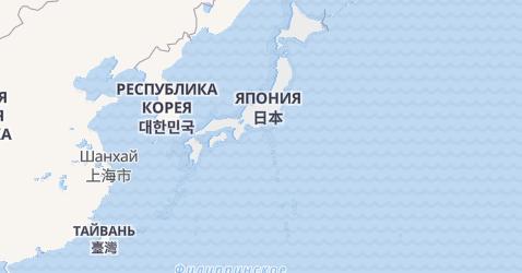 Япония - карта