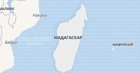Мадагаскар - карта