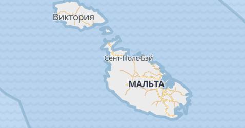 Мальта - карта