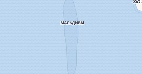 Мальдивы - карта