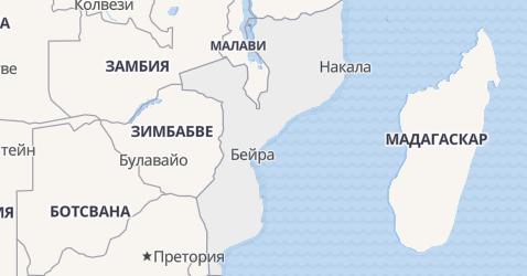 Мозамбик - карта