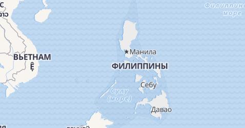 Филиппины - карта