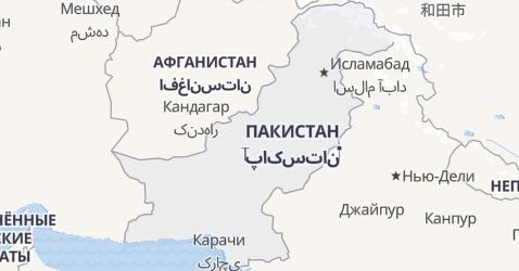 Пакистан - карта