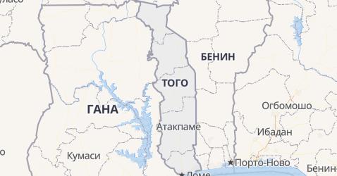 Того - карта
