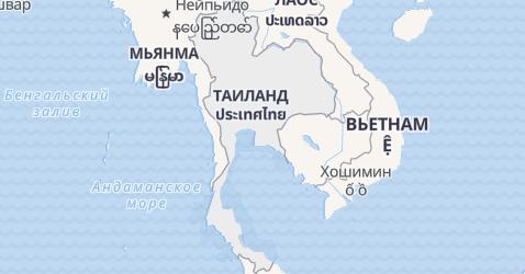 Таиланд - карта