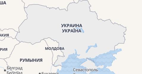 Украина - карта