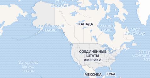 Соединенные Штаты Америки (США) - карта