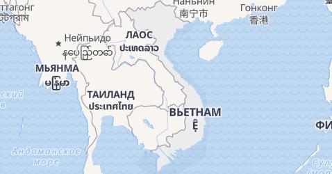Вьетнам - карта