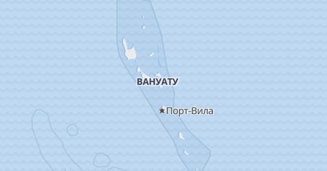 Вануату - карта