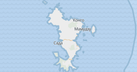 Майотта - карта