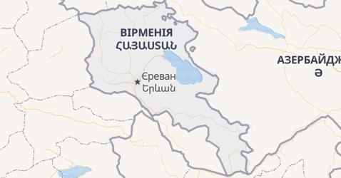 Вірменія - мапа
