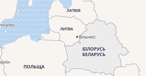 Білорусь - мапа