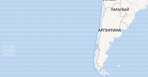 Чілі - мапа